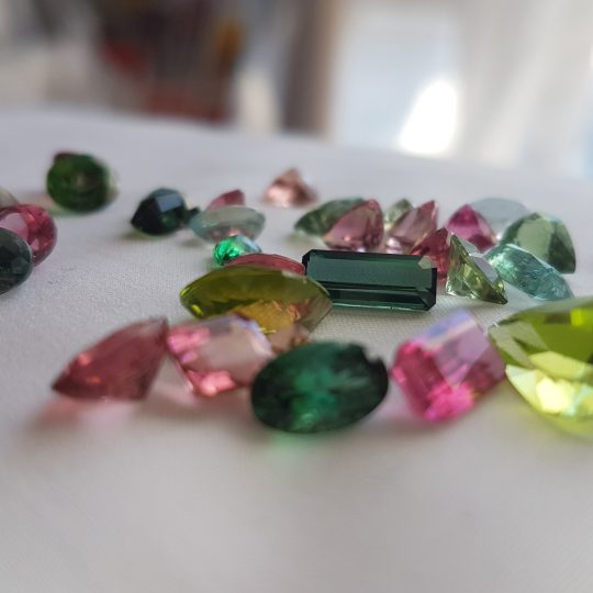 Gemstones we found during one of our travels, shot at first light of day.