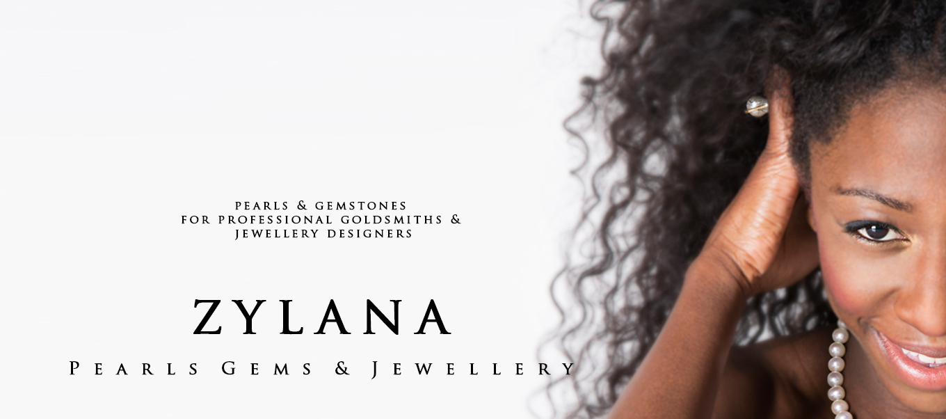 Zylana pearls and gemstones for professional goldsmiths and jewellery designers