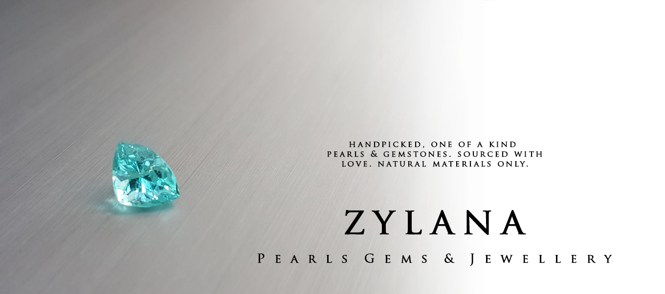 Zylana Pearls & Gemstones. Sourced with love. Natural materials only.